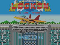 Lock-On (ARC)  © Data East 1986   1/3