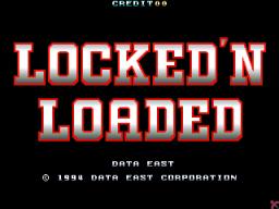 Locked 'N Loaded (ARC)  © Data East 1994   1/2
