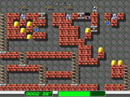 Lode Runner: The Dig Fight (ARC)  © Psikyo 2000   2/2