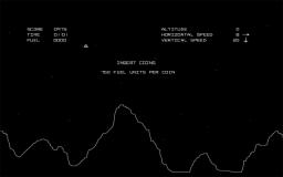 Lunar Lander (ARC)  © Atari (1972) 1979   1/1