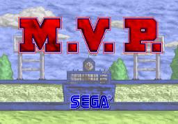 M.V.P. (ARC)  © Sega 1987   1/3