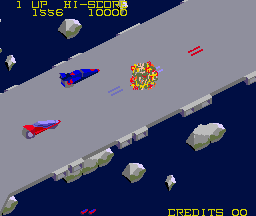 Mad Crasher (ARC)  © SNK 1984   3/3