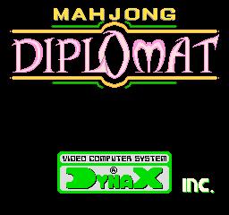 Mahjong Diplomat (ARC)  © Dynax 1987   1/3