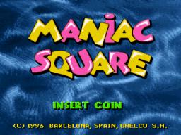 Maniac Square (ARC)  © Gaelco 1996   1/5