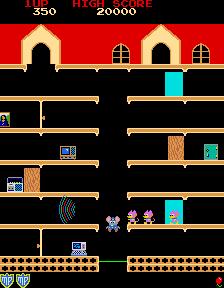 Mappy (ARC)  © Namco 1983   2/3