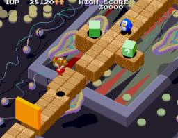 Marchen Maze (ARC)  © Namco 1988   3/4