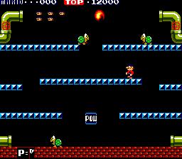 Mario Bros. (ARC)  © Nintendo 1983   2/4