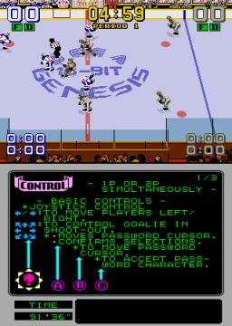Mario Lemieux Hockey (ARC)  © Sega 1991   4/4