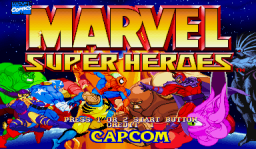 Marvel Super Heroes (ARC)   © Capcom 1995    1/24