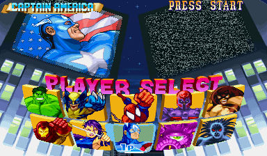 Marvel Super Heroes (ARC)   © Capcom 1995    4/24