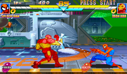 Marvel Super Heroes (ARC)   © Capcom 1995    3/24