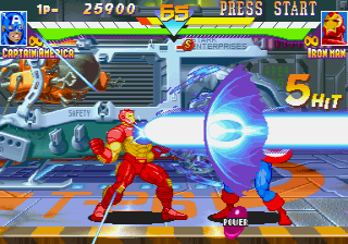 Marvel Super Heroes (ARC)   © Capcom 1995    7/24