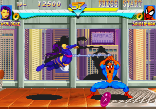 Marvel Super Heroes (ARC)   © Capcom 1995    8/24