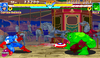Marvel Super Heroes (ARC)   © Capcom 1995    11/24