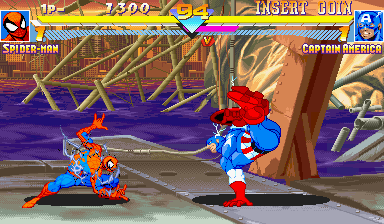 Marvel Super Heroes (ARC)   © Capcom 1995    23/24