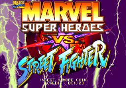 Marvel Super Heroes Vs. Street Fighter (ARC)  © Capcom 1997   1/22