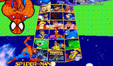 Marvel Super Heroes Vs. Street Fighter (ARC)  © Capcom 1997   11/22