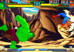 Marvel Super Heroes Vs. Street Fighter (ARC)  © Capcom 1997   2/22