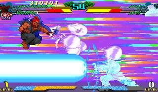 Marvel Super Heroes Vs. Street Fighter (ARC)  © Capcom 1997   10/22