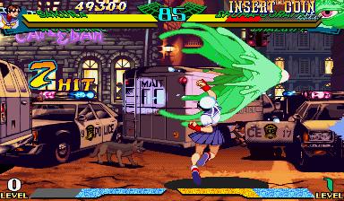 Marvel Super Heroes Vs. Street Fighter (ARC)  © Capcom 1997   13/22