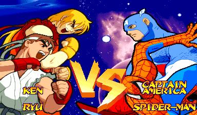 Marvel Super Heroes Vs. Street Fighter (ARC)  © Capcom 1997   15/22