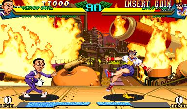 Marvel Super Heroes Vs. Street Fighter (ARC)  © Capcom 1997   16/22