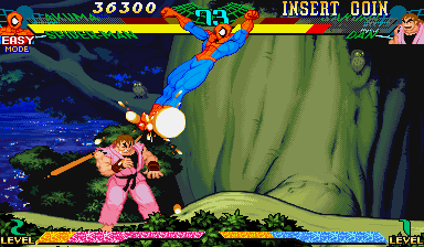Marvel Super Heroes Vs. Street Fighter (ARC)  © Capcom 1997   19/22