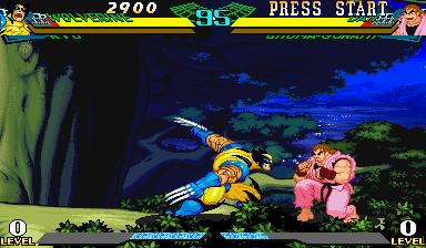 Marvel Super Heroes Vs. Street Fighter (ARC)  © Capcom 1997   22/22