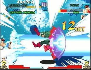 Marvel Vs. Capcom: Clash Of Super Heroes (ARC)  © Capcom 1998   9/55