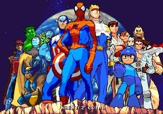 Marvel Vs. Capcom: Clash Of Super Heroes (ARC)  © Capcom 1998   21/55