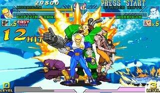 Marvel Vs. Capcom: Clash Of Super Heroes (ARC)  © Capcom 1998   28/55