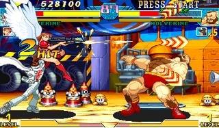 Marvel Vs. Capcom: Clash Of Super Heroes (ARC)  © Capcom 1998   29/55