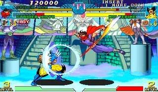 Marvel Vs. Capcom: Clash Of Super Heroes (ARC)  © Capcom 1998   32/55