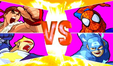 Marvel Vs. Capcom: Clash Of Super Heroes (ARC)  © Capcom 1998   33/55