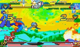 Marvel Vs. Capcom: Clash Of Super Heroes (ARC)  © Capcom 1998   34/55