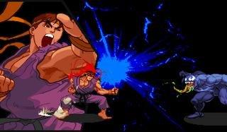 Marvel Vs. Capcom: Clash Of Super Heroes (ARC)  © Capcom 1998   35/55