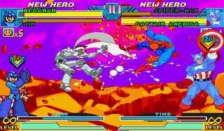 Marvel Vs. Capcom: Clash Of Super Heroes (ARC)  © Capcom 1998   36/55