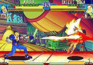 Marvel Vs. Capcom: Clash Of Super Heroes (ARC)  © Capcom 1998   37/55