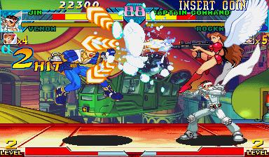 Marvel Vs. Capcom: Clash Of Super Heroes (ARC)  © Capcom 1998   41/55