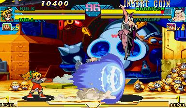 Marvel Vs. Capcom: Clash Of Super Heroes (ARC)  © Capcom 1998   46/55
