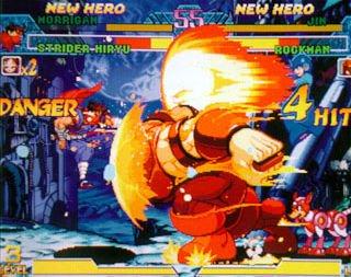 Marvel Vs. Capcom: Clash Of Super Heroes (ARC)  © Capcom 1998   49/55