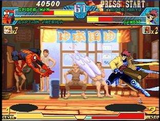 Marvel Vs. Capcom: Clash Of Super Heroes (ARC)  © Capcom 1998   51/55