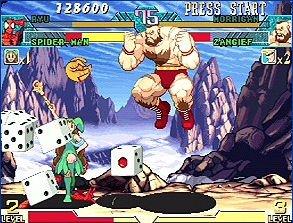 Marvel Vs. Capcom: Clash Of Super Heroes (ARC)  © Capcom 1998   52/55
