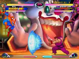 Marvel Vs. Capcom 2: New Age Of Heroes (ARC)  © Capcom 2000   2/4