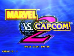 Marvel Vs. Capcom 2: New Age Of Heroes (ARC)  © Capcom 2000   1/4