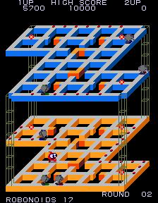 Marvin's Maze (ARC)  © SNK 1983   2/3
