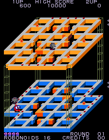 Marvin's Maze (ARC)  © SNK 1983   3/3