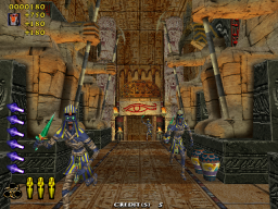 The Maze Of The Kings (ARC)  © Sega 2001   2/4