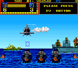 Mechanized Attack (ARC)   © SNK 1988    4/4