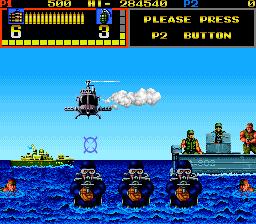 Mechanized Attack (ARC)  © SNK 1988   4/4